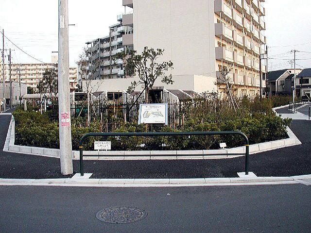 扇一丁目第3緑地(西側)整備工事(都営住宅)の写真