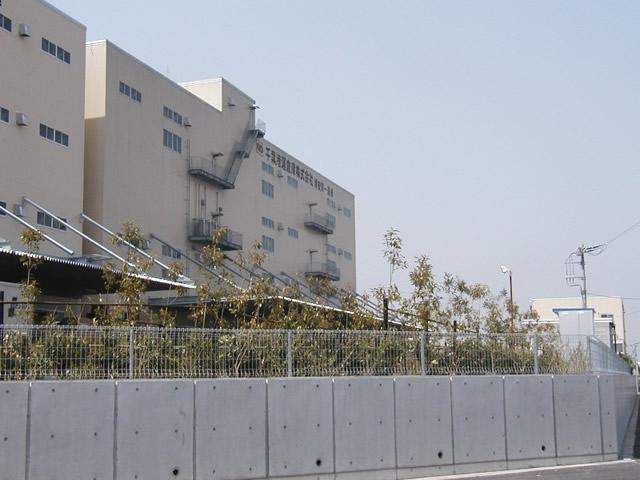 千葉港運倉庫(株)浦安営業所植栽工事の写真
