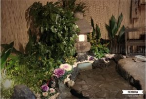 お庭の模様替え