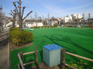 新宿交通公園の施設更新工事その1