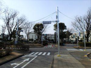新宿交通公園の施設更新工事その2